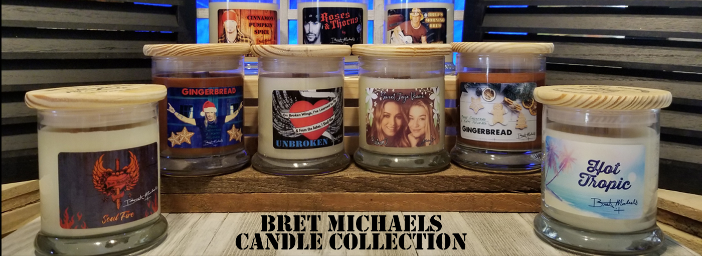 Bret Michaels Candle Collection