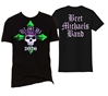 2020 BMB Cross Skull Tee Bret Michaels, Brett Michaels, Bret Micheals, Brett Micheals, 2020, BMB