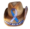 Bret Michaels Know Survive Thrive Logo Cowboy Hat  Bret Michaels, Know Survive Thrive, Type 1, Diabetes, Cowboy Hat