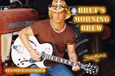 Bret Michaels Brets Morning Brew Candle - Tin Bret Michaels, Brett Michaels, Bret Micheals, Brett Micheals, LIfestyle, Style, Life, Collection, Home, Inspiration, gifts, candle, coffee, brets morning brew