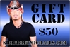 ShopBretMichaels.com Gift Certificate - $50 Bret Michaels, Brett Michaels, Bret Micheals, Brett Micheals, LIfestyle, Style, Life, Collection, Home, Inspiration, gifts, apparel, shirts, stationary, post cards, posters, photos