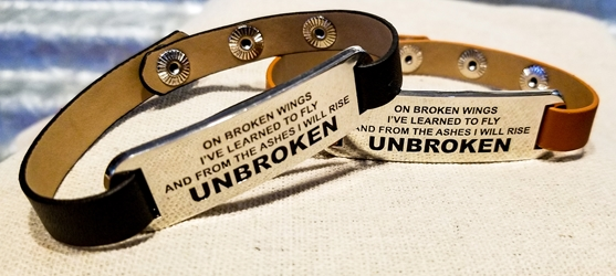 Unbroken Leather Bracelet Bret Michaels, Brett Michaels, Bret Micheals, Brett Micheals, Inspiration, gifts, jewelry