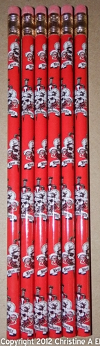Bret Michaels Pencil Red Design