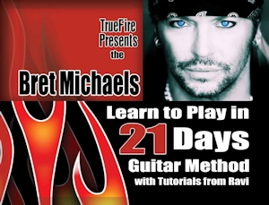 Bret Michaels Guitar Method