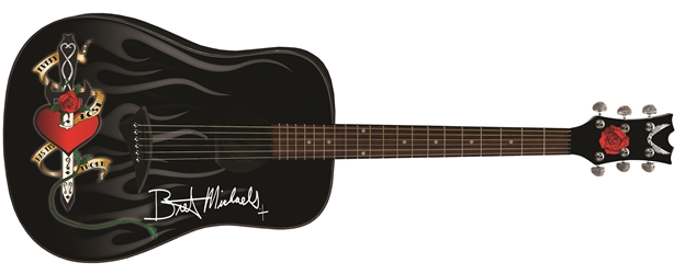 Bret Michaels Every Rose Acoustic Guitar Bret Michaels, Brett Michaels, Bret Micheals, Brett Micheals, Every Rose Has Its Thorn, Guitar, Poison