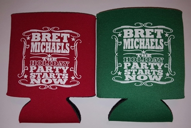 Holiday Party Starts Now Can Coolie Bret Michaels, Brett Michaels, Bret Micheals, Brett Micheals, Can Coolie