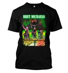Bret Michaels 100% Live Photo Tee